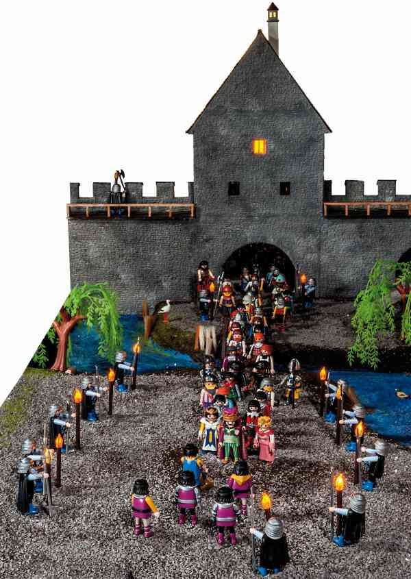 König Sigismund betritt in der Weihnachtsnacht 1414 die Stadt Konstanz von der Seeseite her.