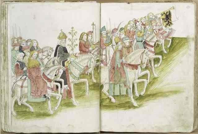 Richtental: Einzug König Sigismunds