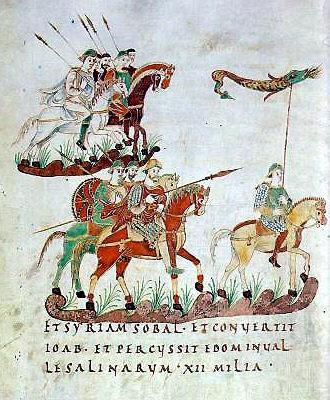 Karolingische Reiterei