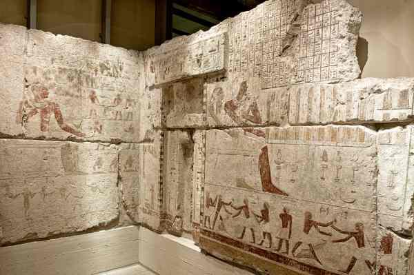 Die Opferkammer des Wesirs Seschemnefer III.