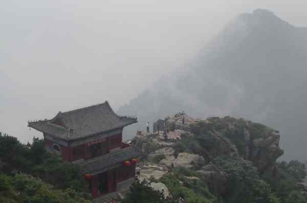 Taishan, der heilige Berg Chinas