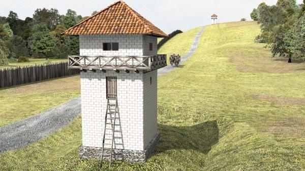 Limes-Rekonstruktion Kritzkratz