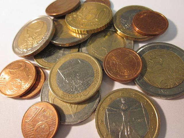 Aktuelle Euro-Münzen