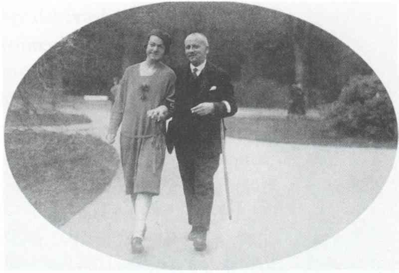 Lili und Martin Friedmann, 1926