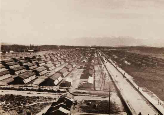 Das Lager Gurs in Frankreich im Oktober 1940