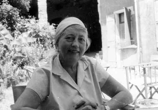 Ida Jauffron-Frank, Foto, um 1960