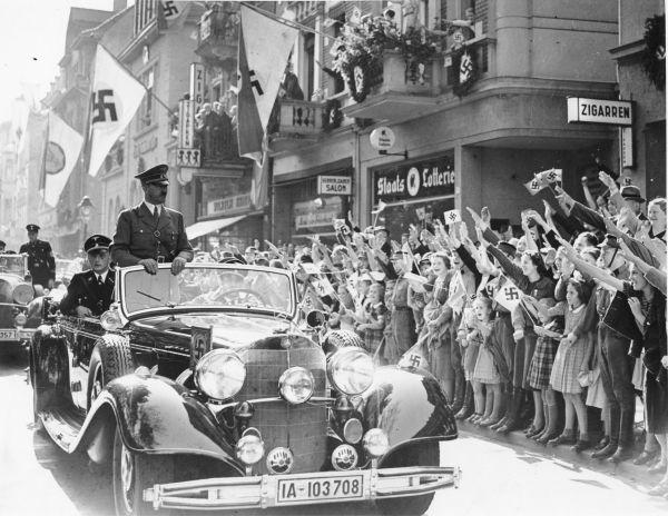 Jubel der Bevölkerung, 22.9.1938