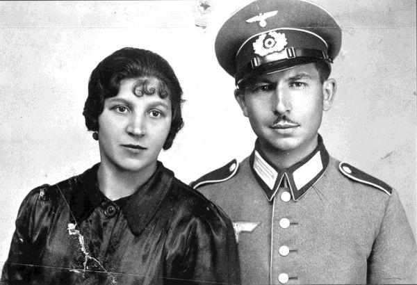 Max Friedrich mit seiner Frau Grete