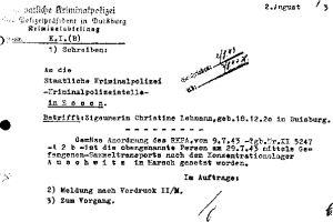 Deportation nach Auschwitz