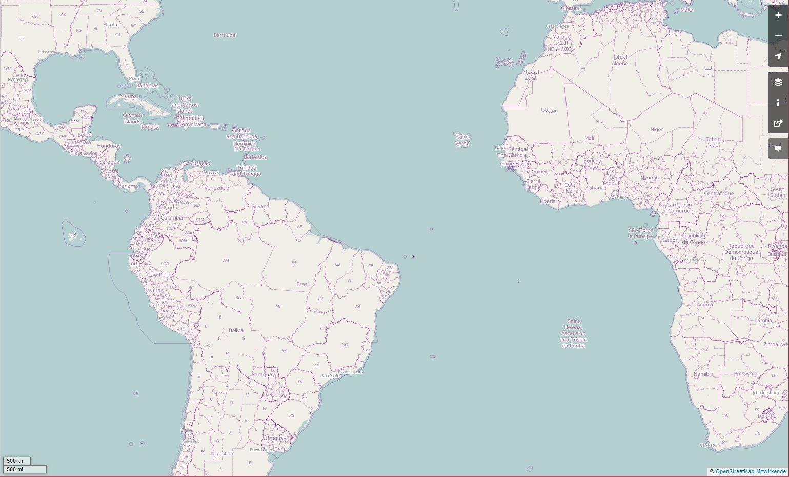 Atlantischer Ozean und Anrainer