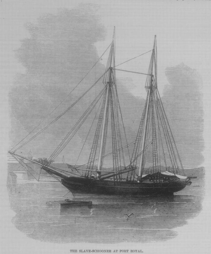 Das Sklavenschiff Zeldina