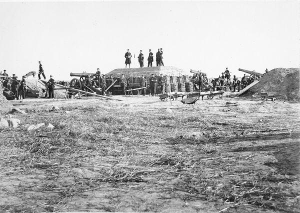 Preußische Soldaten im deutsch-dänischen Krieg von 1864
