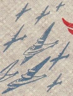 Detail Flugzeuge im Anflug auf Berlin