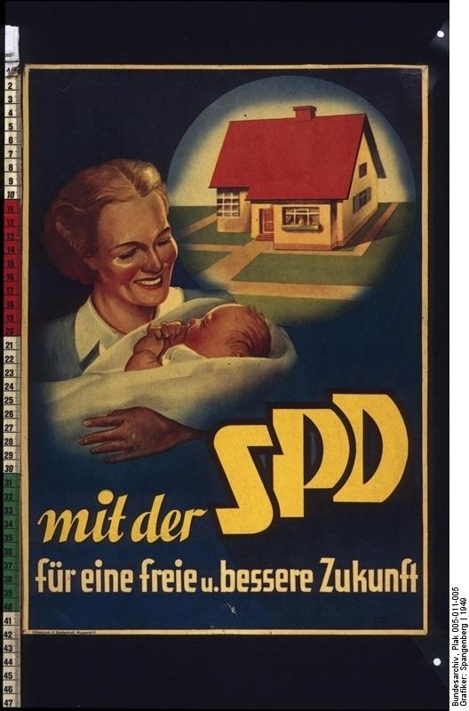 Mit der SPD für eine freie und bessere Zukunft