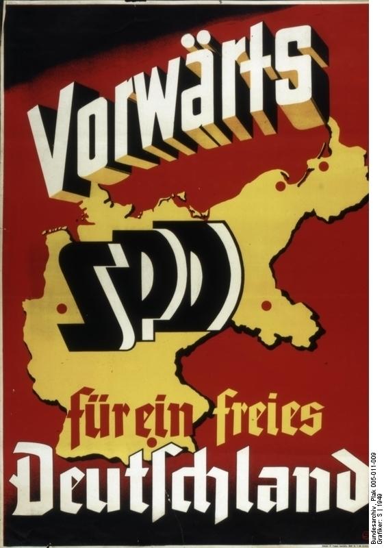 SPD: Vorwärts für ein freies Deutschland