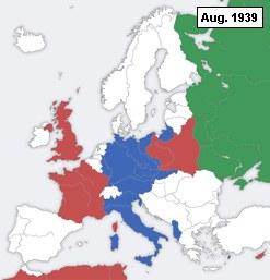 2. Weltkrieg als Animation