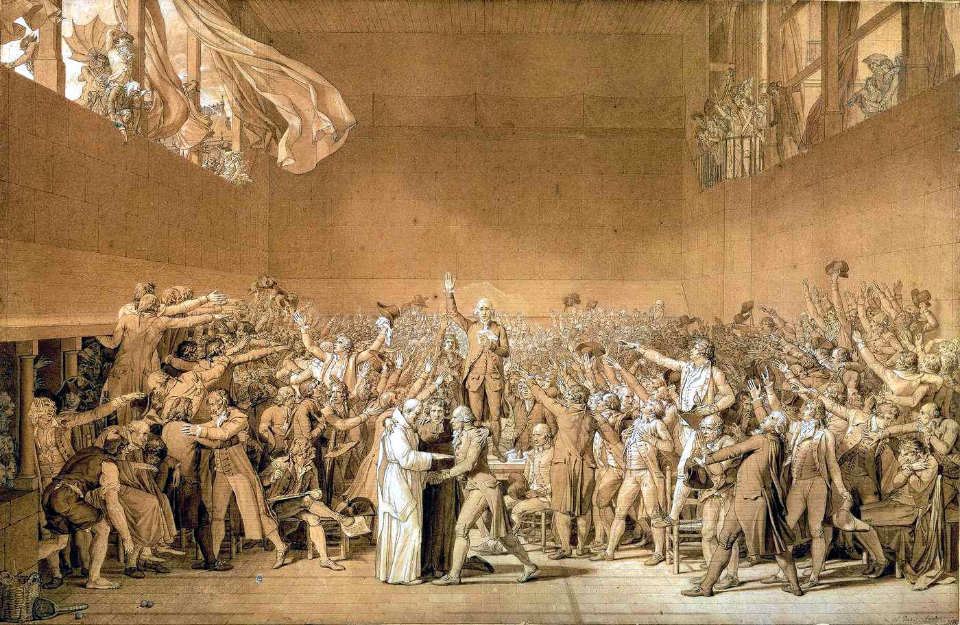 Der Ballhausschwur: Beginn der Französischen Revolution?