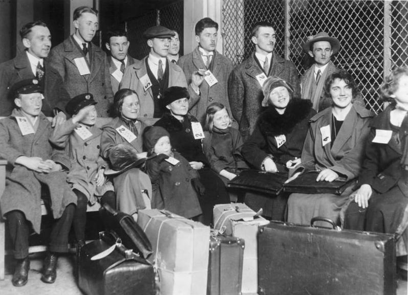 Einwanderer in Ellis Island, 1931