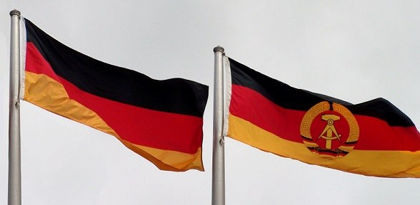 Flaggen BRD-DDR
