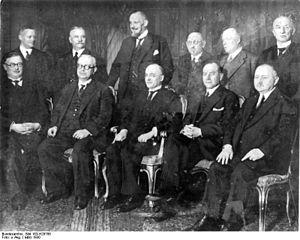 Kabinett Brüning I (März 1930)