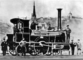 Dampflokomotive_Kopernikus_der_Maschinenfabrik_Esslingen_um_1850 (1)