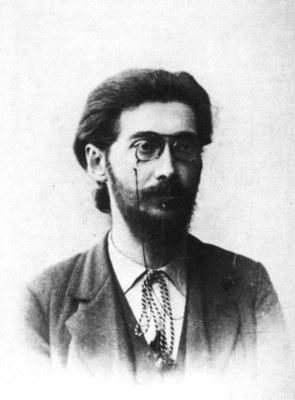 Gustav Landauer mit ca. 24 Jahren
