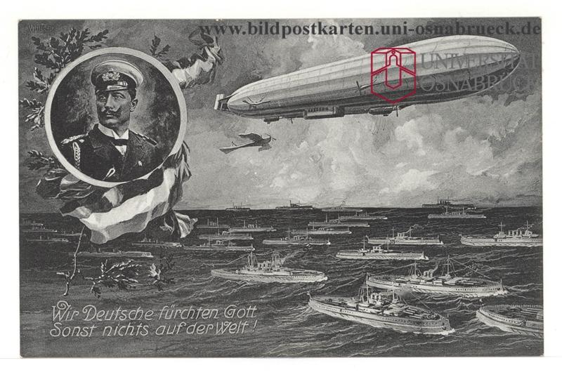 hindenburg luftschiff werbung