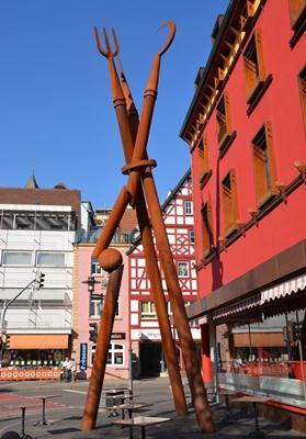 Bauernkriegsskulptur von Lutz Ackermann