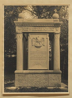 Das Denkmal Stuttgart-Münster 1926
