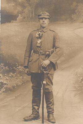 Der Schwieberdinger Soldat Karl Wagner 1916