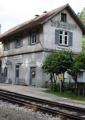 Der Bahnhof Haigerloch