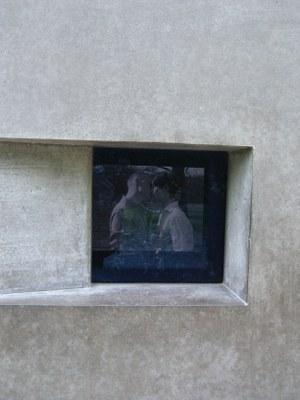 Homosexuelle Nationalsozialismus Denkmal Berlin Kuss