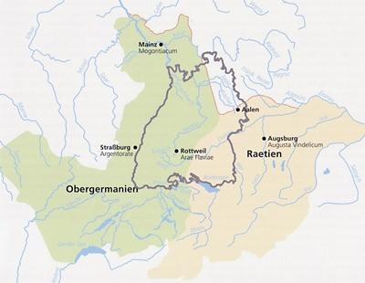 Die Provinzen Obergermanien und Rätien