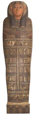 Der Innensarg der Taditjaina aus dem Museum der Universität Tübingen MUT