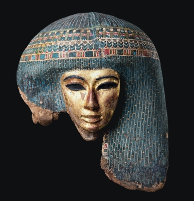Totenmaske aus dem Museum der Universität Tübingen MUT