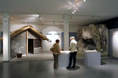 Blick in den Ausstellungsraum: