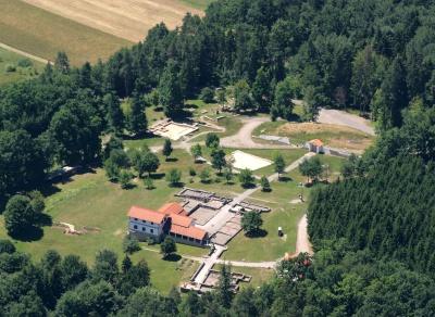 Luftbild der Gesamtanlage