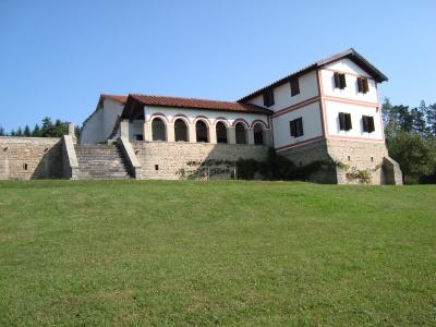 Portikusvilla von Süden
