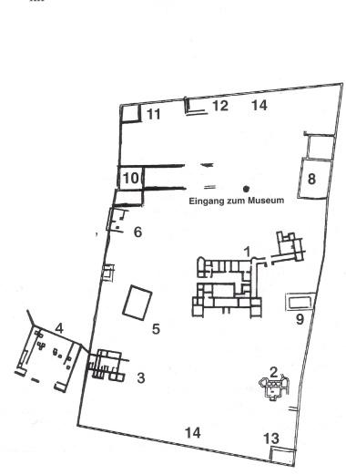 Gesamtplan der Anlage 2007