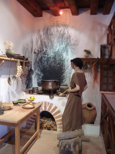 Rekonstruktion einer Küche
