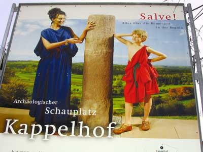 Hinweistafel Kappelhofmuseum