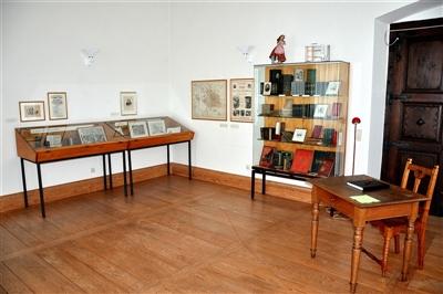 Nebenraum im Berthold-Auerbach-Museum