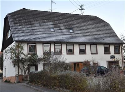Geburtshaus von Berthold Auerbach in Horb-Nordstetten