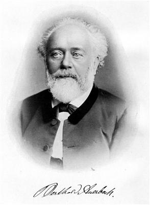 Auerbach-Portrait mit Autogramm