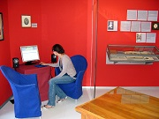 Das Tonkabinett des Museums  für Literatur am Oberrhein