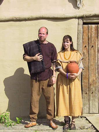 Keltische Kleidung