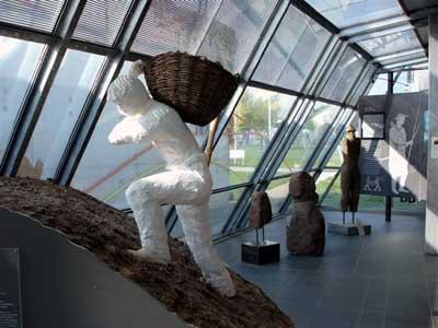 Das Keltenmuseum bietet einen Überblick über die Zeit um 540 v. Chr.