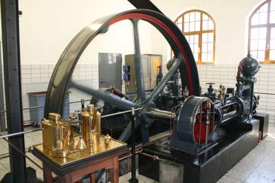 Seit 1908 in Betrieb: Kolbenpumpe der Pumpstation Seeburg