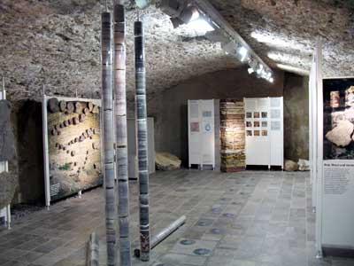 Abteilung Geologie und Frühgeschichte im HF-Museum