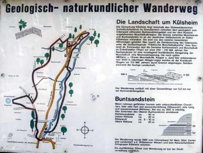Saurierwanderweg Külsheim